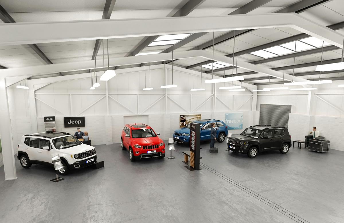 Auto repair shop building design the for Automotive shop design